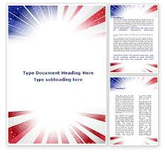 american flag stylized word template 09079 poweredtemplate com