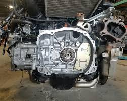 subaru engine turbo ej20x engine vf38 titanium twin scroll turbo avcs quad cam jdm