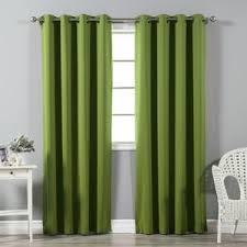 Lime Green Striped Curtains 108 Inch 119 Inch Curtains U0026 Drapes You U0027ll Love Wayfair