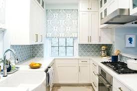 backsplash for a white kitchen blue kitchen backsplash white kitchen with blue mosaic tile cobalt