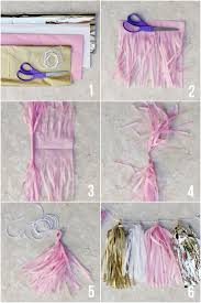 Birthday Decorations To Make At Home Best 25 Tissue Paper Decorations Ideas That You Will Like On