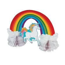 centerpiece unicorns centerpieces and party
