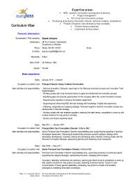 Resume Dates by Cv Justyna Szpak Pdf