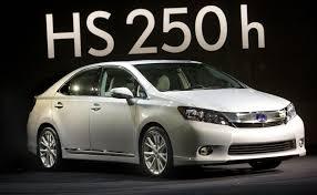 lexus hs hybrid 2009 lexus hs 250h image