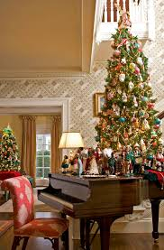 Traditional Home Christmas Decorating Ideas by Designer Home With Multi Hued Holiday Palette Traditional Home