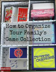 How To Organize Ideas How To Organize Board Games Momadvice