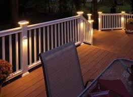 deck rail lighting this would be really cool for the summertime