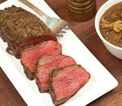 beef tenderloin menu dinner party holiday menu roasted beef tenderloin with mushroom port sauce