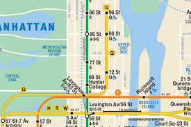 Mta Subway Map Nyc by This New Nyc Subway Map Shows The Second Avenue Line So It Has To