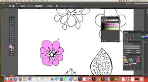 turning sketches into vector art illustrator youtube