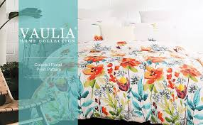 Duvet Cover Teal Amazon Com Vaulia Lightweight Microfiber Duvet Cover Set