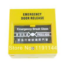 break glass door release buy fire break glass emergency door release break glass fire