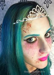 kryolan halloween makeup serena wanders cartoon zombie princess halloween makeup