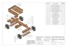 this wooden go kart design seems like a good start for the race