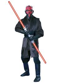 super deluxe darth maul costume star wars episode 1 sith