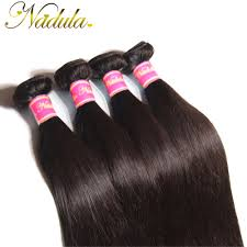 Natural Virgin Hair Extensions by Online Shop 4 Bundles Peruvian Straight Hair Smooth Straight