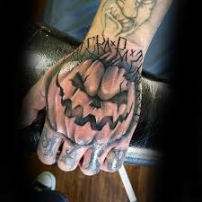 80 halloween tattoo designs for men ghoulish grandeur
