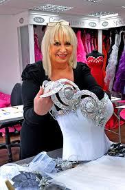 wedding dress makers big weddings dressmaker thelma madine on opening