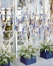 wedding trees a snowy winter wedding in aspen colorado martha stewart weddings