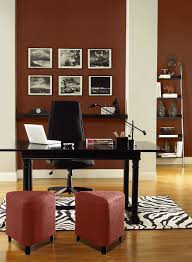 Paint Color Combinations Red Home Office Ideas Energizing Red Home Office Paint Color