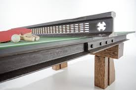 reclaimed wood game table custom ping pong table design from reclaimed wood and steel