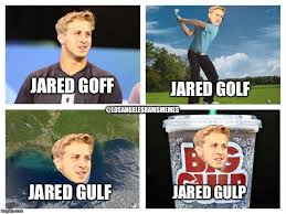 Rams Memes - enjoy these jared goff puns that nobody los angeles rams