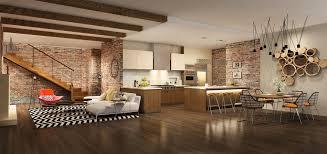 spacious villa living room interior 53515 building home
