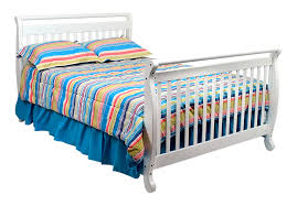 Davinci Emily Convertible Crib Davinci Emily 4 In 1 Convertible Baby Crib In White W Toddler