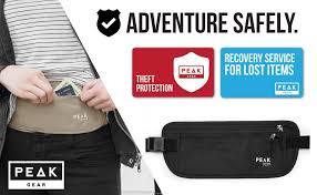 Travel Comfort Items Amazon Com Thin Profile Money Belt W Theft Insurance And Lost