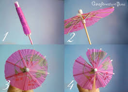 How To Make Paper Umbrellas - craftventure time butterfly decor from paper umbrella