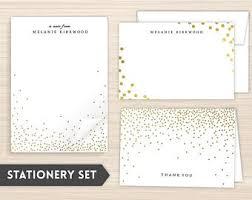 personalized stationery sets custom stationery etsy