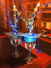 diy grad party ideas teran u0027s graduation centerpiece place a