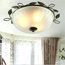 wrought iron flush mount lighting iron ceiling light wrought iron material country style flush mount