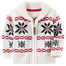boy s fairisle zip up sweater