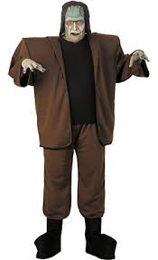 Slender Man Halloween Costume Horror Film Costumes Kids Adults Party