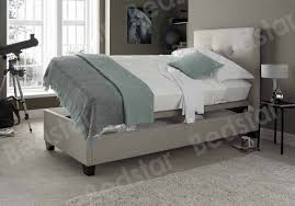 Single Ottoman Bed Modern Storage Frame Single Ottoman Side Opening Uk Faux