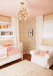 Modern Nursery Rug Baby Nursery Modern Nursery Features Baby Crib Large Drum Shade