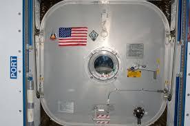 file sts 135 harmony s hatch with u s flag jpg wikimedia commons