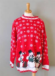 ugly christmas sweater women l men m snowflake nordic jonathan