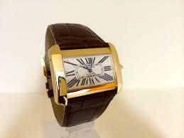 cartier divan cartier divan 18 ct gold size automatic rolex watches uk