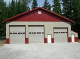 Barn Garage Doors Garage Door Spokane Shop Pole Barn Building Doors Overhead