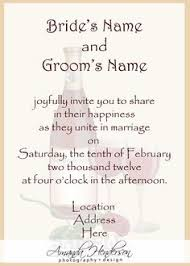 wording of wedding invitations saying for wedding invitations search invitation write
