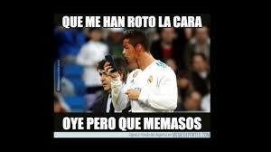 Memes De Ronaldo - cristiano ronaldo protagonizó memes luego de mirar su herida en un