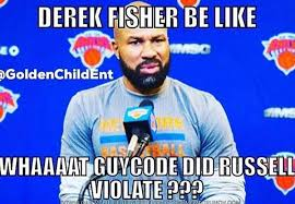 Derek Meme - matt barnes posts derek fisher meme on instagram larry brown sports