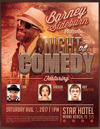 comedy show flyer template free comedy night flyer template free