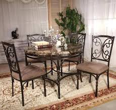 tiburon 5 pc dining table set 5 pc dining table set 5 piece dining set with faux marble top 5