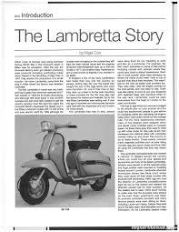 1958 2000 Lambretta 125 150 175 200 Scooter Repair Manual By Haynes