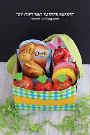 Basket Gift Ideas Diy Gift Bag Easter Basket Gift Ideas Inspiration Made Simple