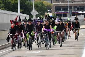 witches rides turn bicycling into a festive fundraiser reader u0027s