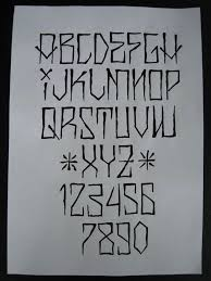 best 25 number tattoo fonts ideas on pinterest number fonts